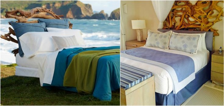Tête de lit bois flotté – une décoration romantique qui respire ...