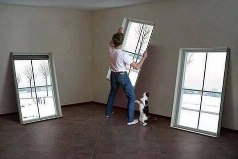 Decore a room without windows diy pinterest Fake window for basement