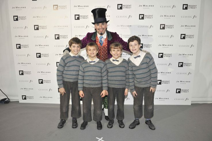The pint sized stars of Charlie and the Chocolate Factory stole the show with their fantastic performance at the #RegentStreet #Christmas Lights event.