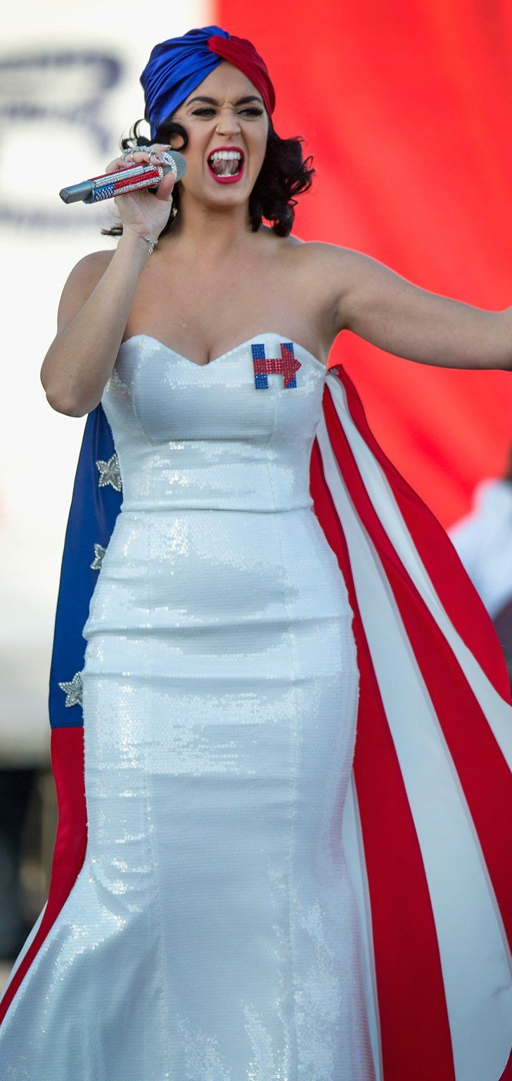 You Have to See the Early Birthday Present Katy Perry Gave Hillary Clinton