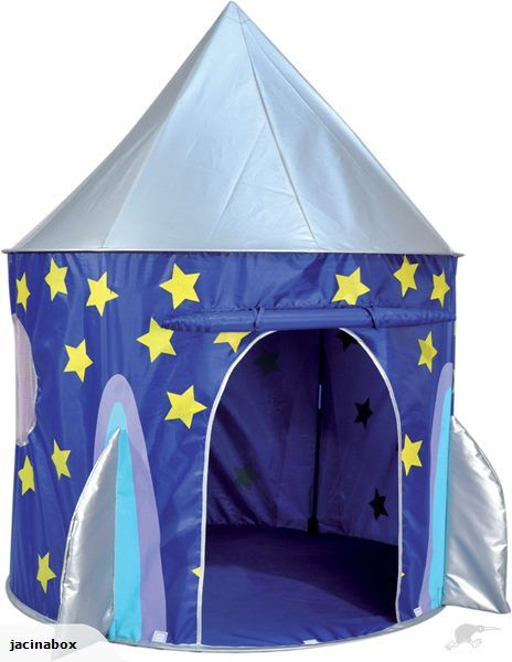 Spirit of Air Pop Up Space Rocket Play Tent | Trade Me