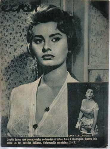 Revista / Ecran / N° 1305 / Tapa De Sophia Loren - $ 20,00