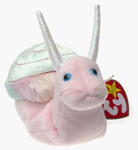 Yep, yep, yep! Ty Beanie Babies - Swirly the Snail Ty http://smile.amazon.com/dp/B00000JQ54/ref=cm_sw_r_pi_dp_Gs7Ltb17VQXCASWJ