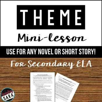 theme and narrative in the short Type of assignment encourages you to think about how and why a poem, short  story,  allegory - narrative form in which the characters are representative of  some larger  character based, modern allegories tend to parallel story and  theme.