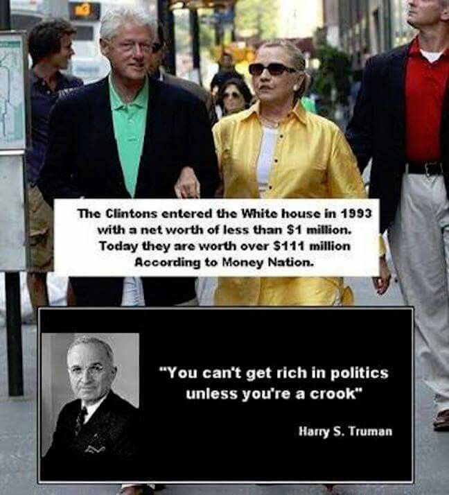 Crooked Clinton's