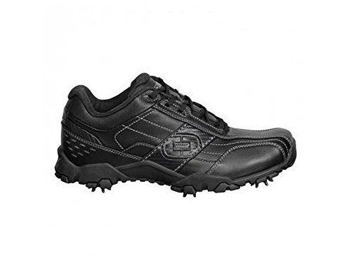 Holiday Deals Ogio City Men's Waterproof Spiked Golf Shoes Black