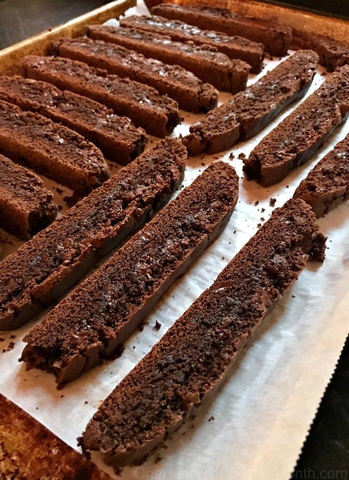 Double Chocolate Biscotti - One Hundred Dollars a Month ...