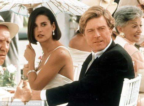 Indecent Proposal ... Demi Moore & Robert Redford