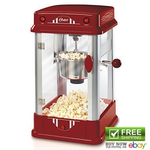 Oster Popcorn Poppers FPSTPP7310-052 Theater Style Popcorn Machine Makers 220V…
