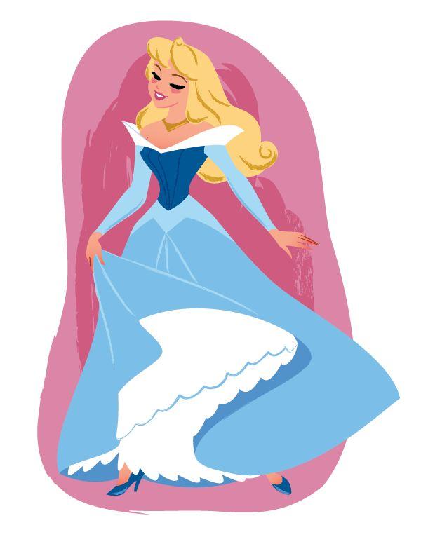 Princess Aurora - (Sleeping Beauty) - Steve Thompson (C)DISNEY