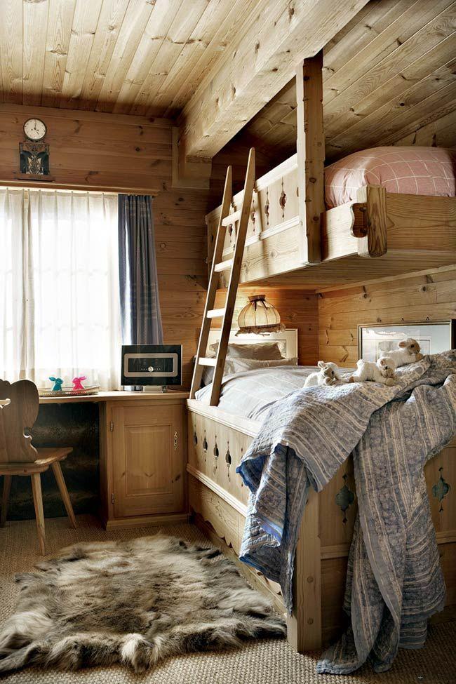 Уютное деревянное шале в Швейцарских Альпах