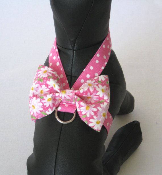 XXXS-M Little Dog Harness Amore Style Tiny Dog Harness by PawLane