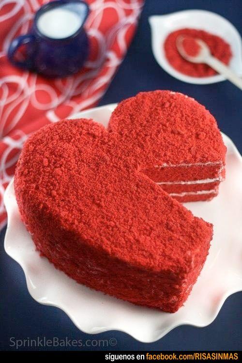 Tartas originales: San Valentín.