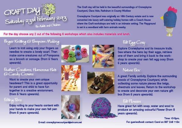 anybody in Wicklow? Check out Croneybyrne www.croneybyrnehoidays.com