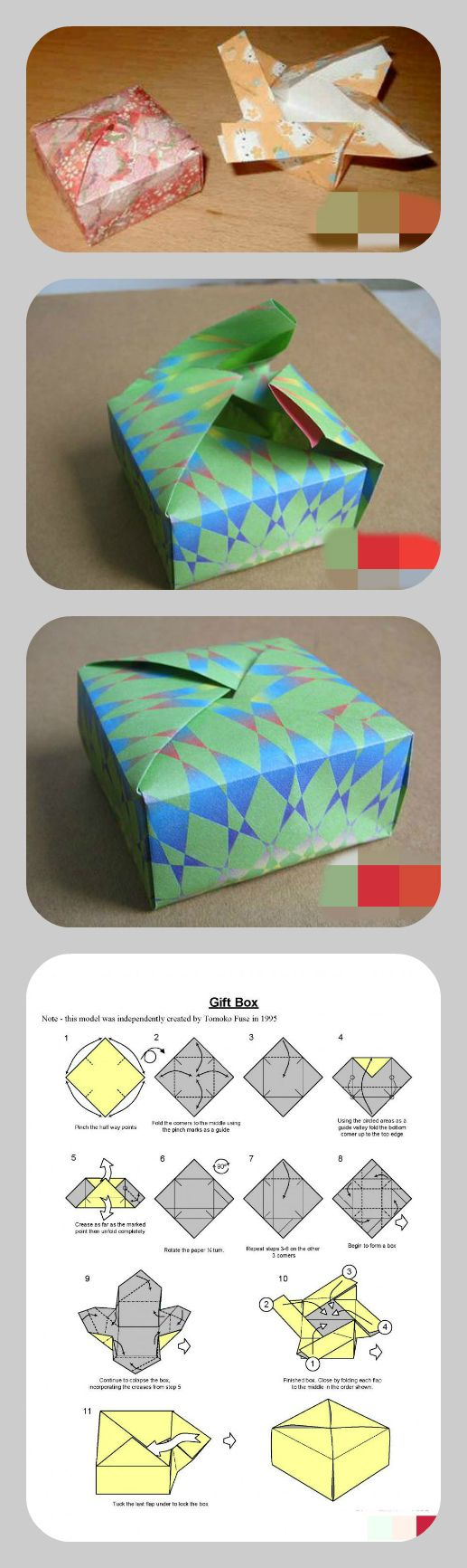 Folded Box...pretty cool
