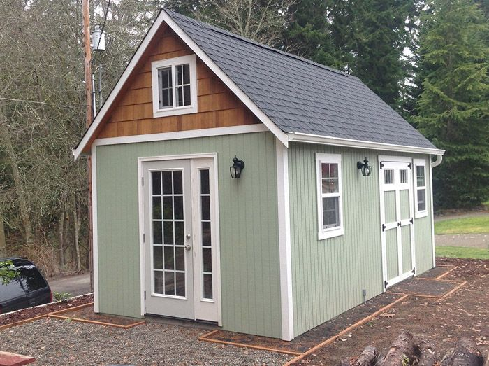 Custom 10 X20 Building A Shed Shed Plans Cool Sheds
