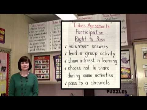 Tribes Agreements: Creating Inclusive Classroom Culture in Second Grade (Virtual Tour)
