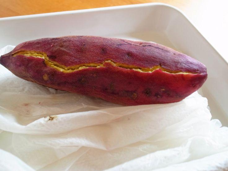さつまいも 焼き芋 レンジ