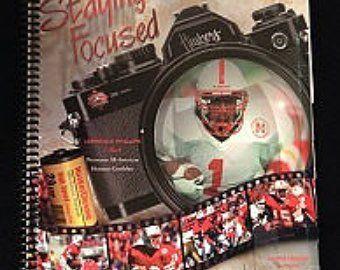 #FOOTBALL Fan gift idea! Nebraska Football 1995 Media and Recruiting Guide RARE