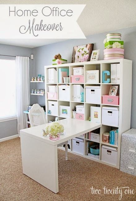 {The Classy Woman}Design Inspiration: Craft Rooms & Office Spaces