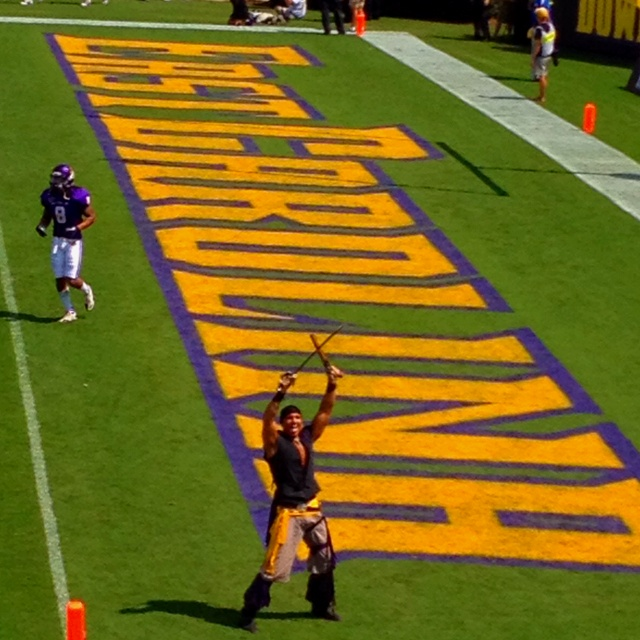 ECU v ASU... yes I did pin him under the beautifica category. Oh my, oh my. I *NEED* to go to an ECU game this year!