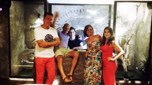 We have the pleasure of having Paul Efmorfidis, co-founder of #Cocomat stay with us at #Elakati , #Rhodes  Always a joy! #‎elakatiexperience‬