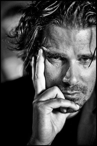 Stephan Vanfleteren (1969) - Belgian photographer - photo by Jesse Willems, 2010