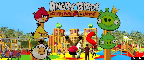 angry birds theme park heading to nottingham to be parks and park in. Black Bedroom Furniture Sets. Home Design Ideas