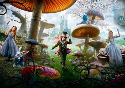 tim burton: Burton Alice, Alice In, Mad Hatters, Alice In Wonderland, Las Maravilla, Tim Burton, Wonderland 2010, Aliceinwonderland, Timburton