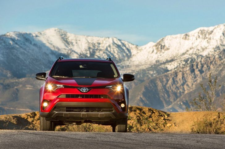 2018 Toyota RAV4 Adventure Specs Front View