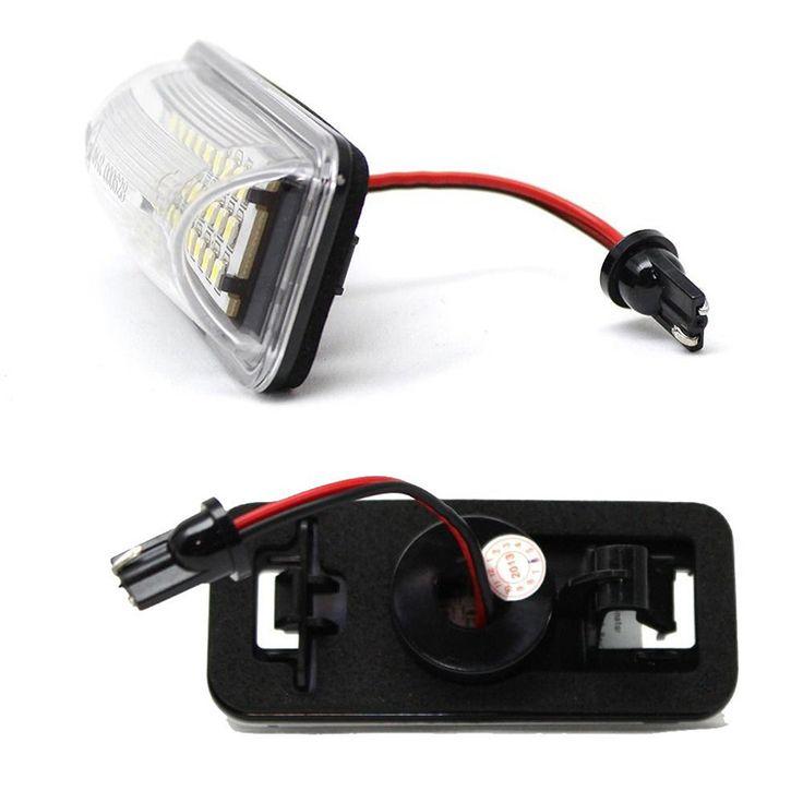 HOPSTYLING 2x LED License Number Plate Light Replacment For Subaru Forester Impreza Legacy BRZ WRX XV Crosstrek TOYOTA FT86 GT86