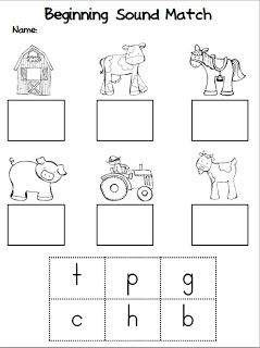 Kindergarten Stars: Fun On The Farm! (and a Freebie!!)