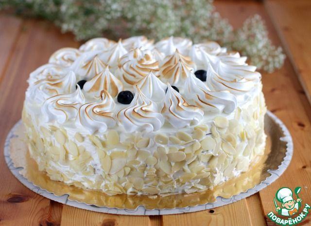 """Торт """"Снежный"""" - кулинарный рецепт"""