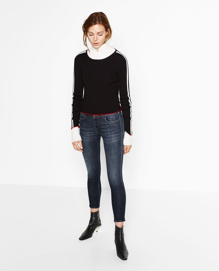 Image 1 de JEAN TAILLE NORMALE CLASSIQUE de Zara
