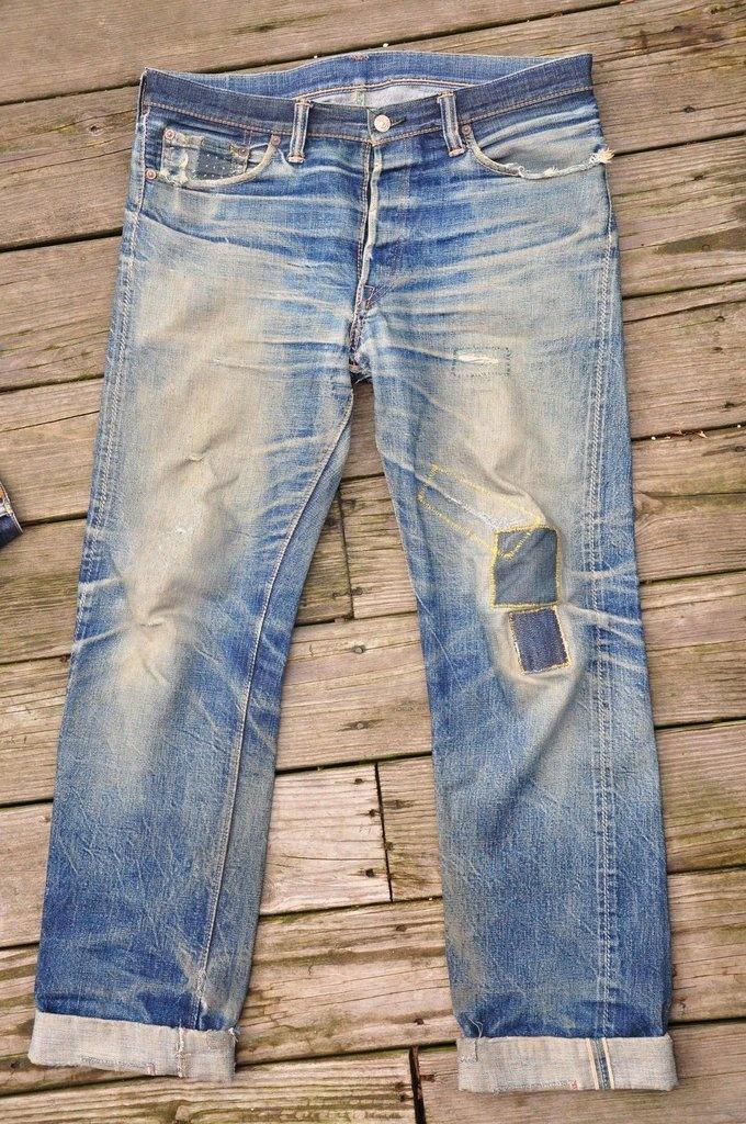 .意外とこういうジーンズが、ビックリするほど高い値段である、と言う話は往々にしてある。