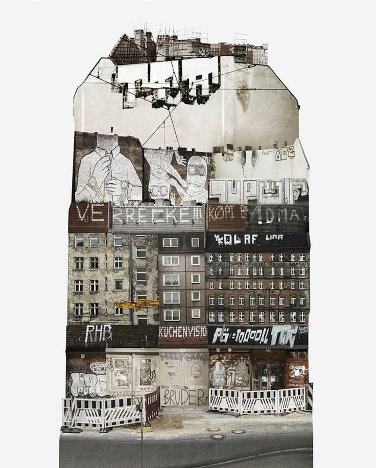 City Collages: Artist creates beautiful collages to study different cities and their architecture   Creative Boom