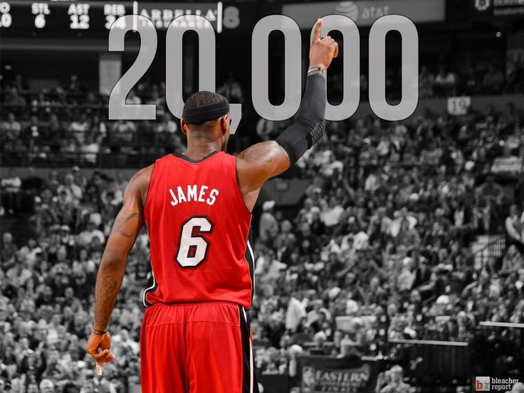 Lebron James the youngest player to score 20 000+ points. Long live the King! #Heat #Cavs #NBA