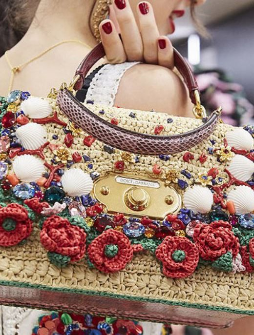 4223aebfaa8dc1 Trending Handbags for Spring 2019 You Need in Your Closet: From see-through  bags by Balmain to classy straw bags by Chanel, check out the trending  handbags ...