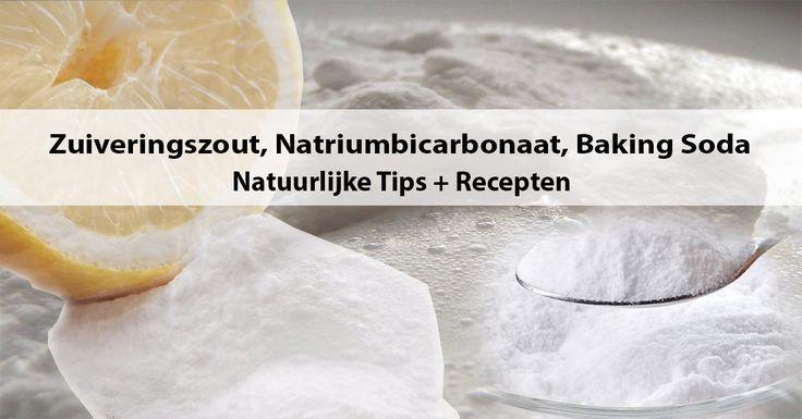 Do it Yourself recepten   Tips met Zuiveringszout, Baking Soda, Natriumbicarbonaat. Maak natuurlijke shampoo, zeep, deodorant, tandpasta, vaatwastabletten.