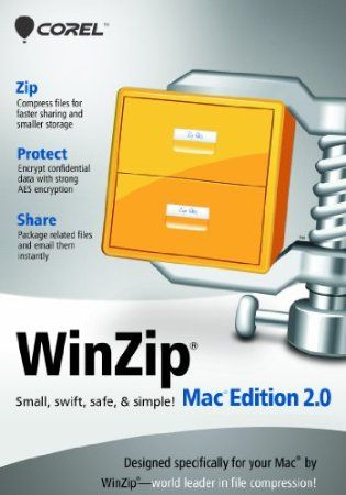 Experience the power of WinZip–on your Mac! Designed specifically for Mac users, WinZip Mac Edition is packed with special features to help maximize your productivity and minimize your file sizes. Share more, store more, and get your work done effortlessly with WinZip Mac Edition.    Price: $39.99