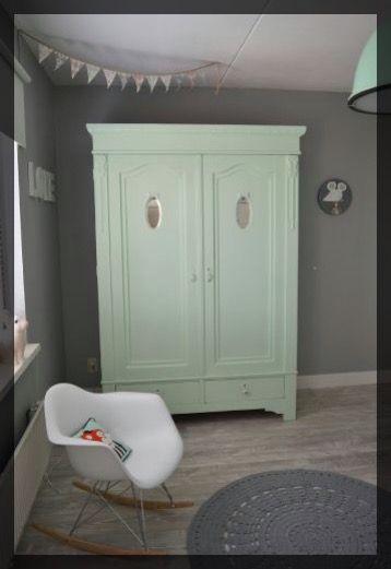 Chambre verte menthe ClemAroundThecorner