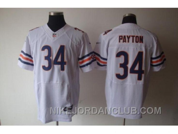 http://www.nikejordanclub.com/nike-nfl-chicago-bears-34-payton-white-elite-jerseys-j642f.html NIKE NFL CHICAGO BEARS #34 PAYTON WHITE ELITE JERSEYS J642F Only $23.00 , Free Shipping!