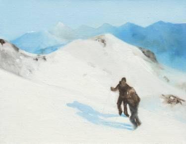 "Saatchi Art Artist Marta Zamarska; Painting, ""Winter Impression 17 (exhibition)"" #art"