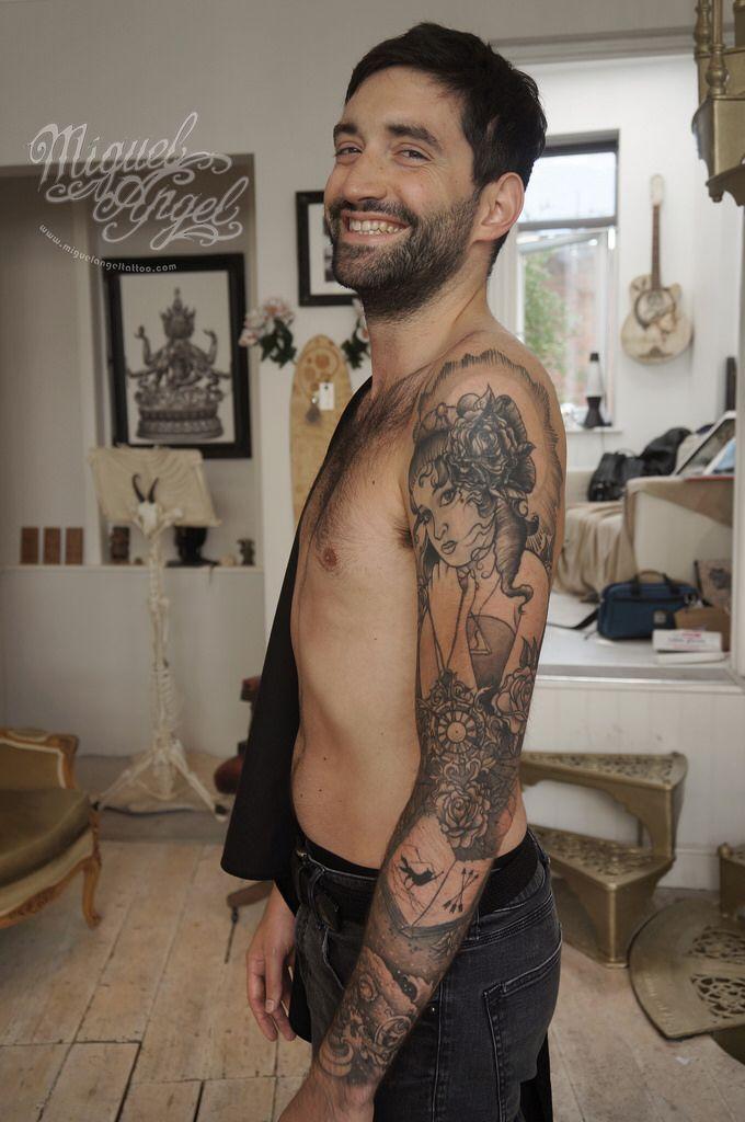 Sailor sleeve tattoo