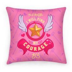 Cardcaptor Sakura: I Will Find My Courage Pillow