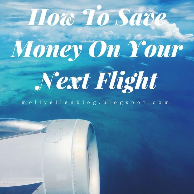 Top tips for saving money on your next flight #flights #travel #travelling #savemoney #moneysavingtips #backpacker #traveltheworld #flying #aeroplane #travelblog