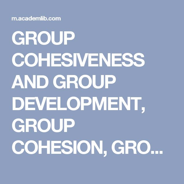 The 25 best e textbooks ideas on pinterest college books free group cohesiveness and group development group cohesion group cohesiveness factors affecting group cohesiveness fandeluxe Choice Image
