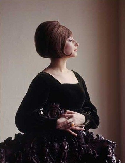 """Barbra Streisand, 1964 by Milton H Greene.  They told her to get her nose """"fixed"""" and she told them to go F themselves."""