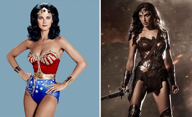 Vous vous souvenez de Batman ou de Superman en slip et collants ? Regardez comment ont évolué les costumes de nos super-héros au cinéma depuis 70 ans.