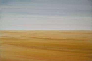 """Saatchi Art Artist Jitka Anlaufova; Painting, """"Abstract Landscape"""" #art"""